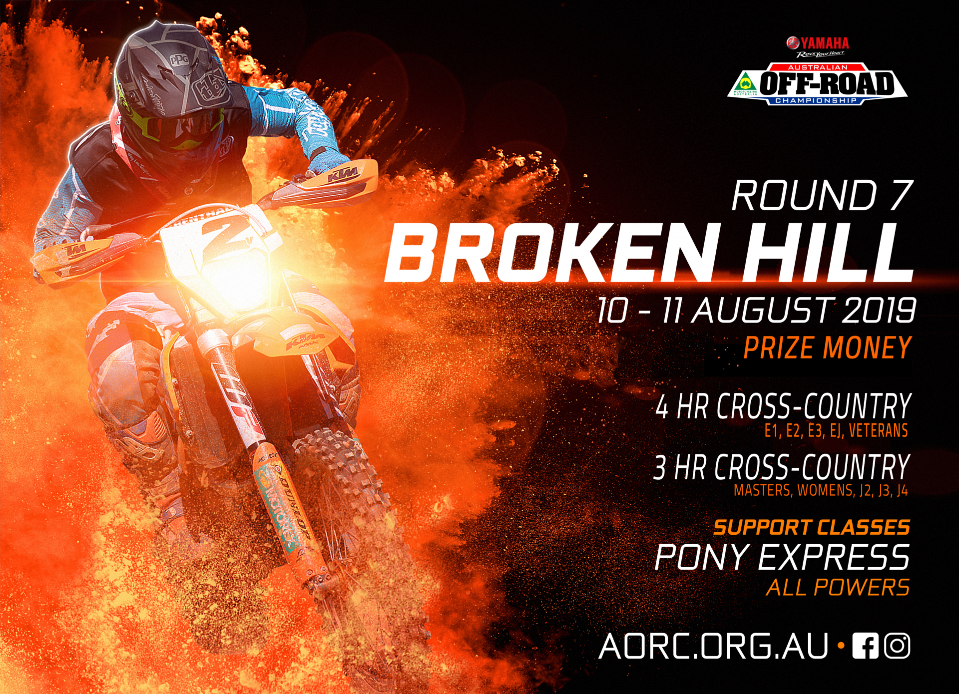 Round 7 – Broken Hill, NSW - AORC
